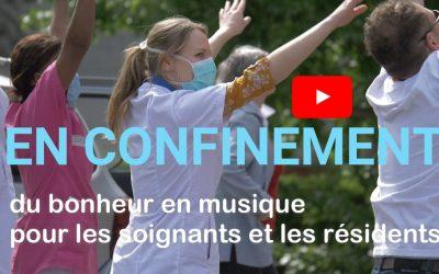 Confinement : du bonheur en musique pour les soignants et les résidents des EHPAD